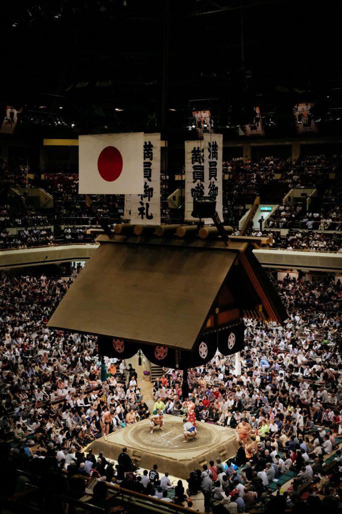 Ryogoku Kokugikan sumo arena